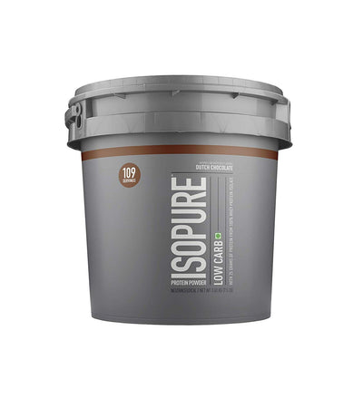 Nature Best Isopure Low Carb 7.5 Lbs Dutch Chocolate