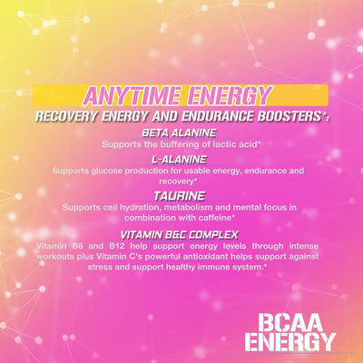 EVL BCAA ENERGY 30 SERVINGS PINK LEMONADE