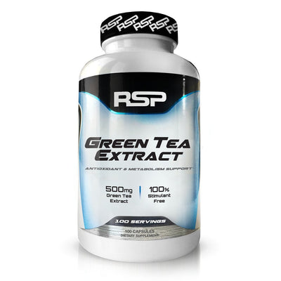 RSP GREEN TEA EXTRACT 100 SERVINGS 100 CAPS