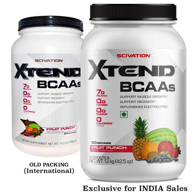 XTEND BCAAS 90 SERVINGS FRUIT PUNCH