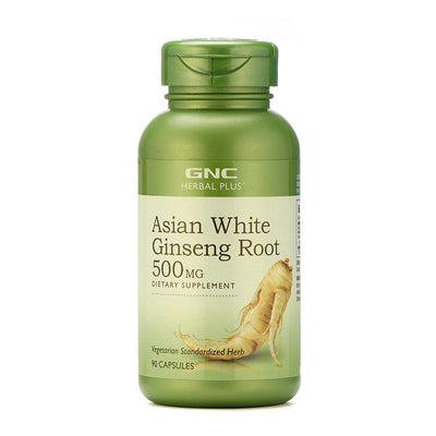 Asian White Ginseng Root 90 Caps