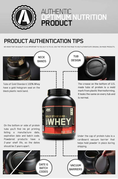 OPTIMUM NUTRITION(ON) GOLD STANDARD 100% WHEY DELICIOUS STRAWBER