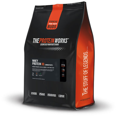 The Protein Works Whey Protein 80(Con) 2kg Chocalte Silk - Muscle & Strength India - India's Leading Genuine Supplement Retailer