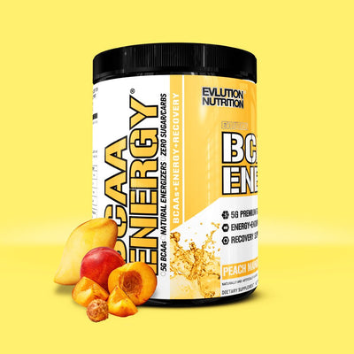 EVL BCAA ENERGY 30 SERVINGS PEACH MANGO