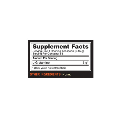 Optimum Nutrition (ON) Glutamine Powder - 300 Gm