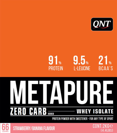 QNT METAPURE STAWBERRY/BANANAN FLAVOUR