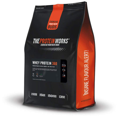 THE PROTEIN WORKS WHEY PROTEIN 360 2.4 KG STRAWBERRY AND CREME
