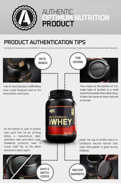 Optimum Nutrition (ON) 100% Whey Gold Standard - 2 Lbs CHOCOLATE