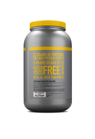 NATURE BEST ISOPURE Zero Carb 3 LBS Banana Cream