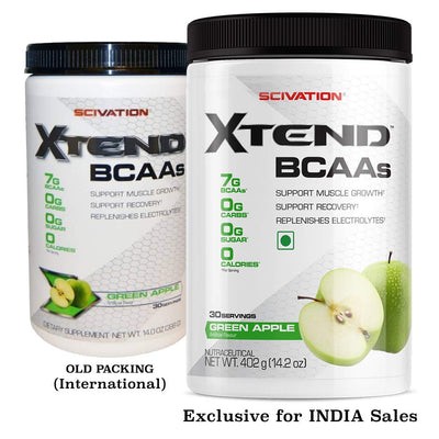 SCIVATION XTEND BCAA 30 SERVINGS GREEN APPLE