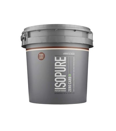 NATURE BEST ISOPURE ZERO CARBS 7.5LB(3.4KG) COOKIES & CREAM