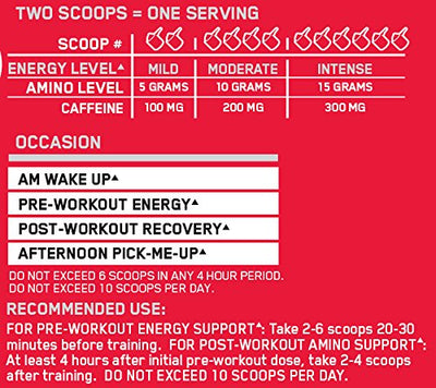 ON AMINO ENERGY STRAWBERRY LIME 270 GM