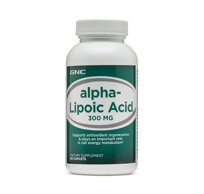 Gnc Alpha Lipoic Acid 300mg