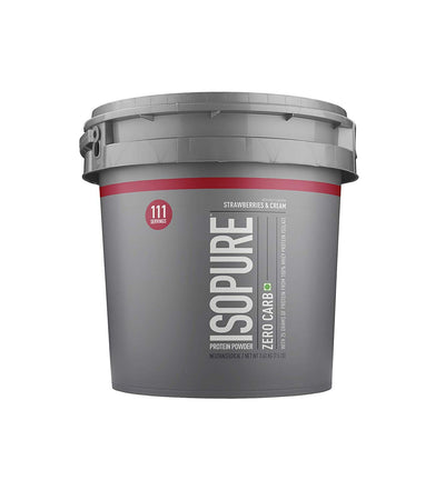 NATURE'S BEST ISOPURE ZERO CARB STRAWBERRY 7.5 LBS