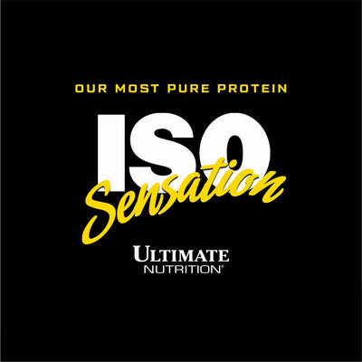 ULTIMATE NUTRITION ISO SENSATION CAFE BRAZIL 5 LBS