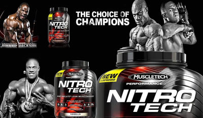 Muscletech Nitrotech Performance Series 4 lbs Strawberry