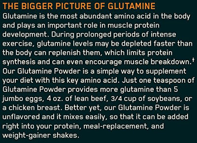 ON GLUTAMINE POWDER 150 GM