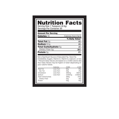 Optimum Nutrition (ON) Fitness Fiber - 30 Servings (Unflavored)