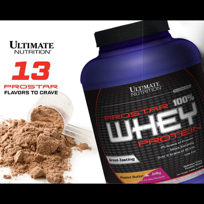 ULTIMATE NUTRITION PROSTAR 100% WHEY PROTEIN 10 LBS CHOCOLATE CR