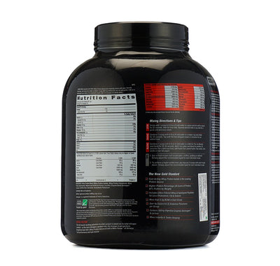 GNC AMPLIFIED 100%  GOLD WHEY PROTEIN ADVANCED 4.9 LB  VANILLA I