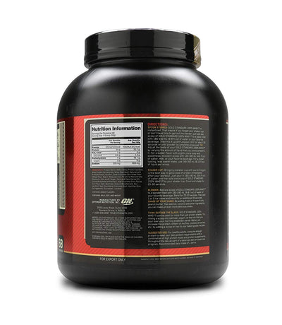 ON GOLD STANDARD 100% WHEY PROT ISO 5 LB COOKIES& Cream