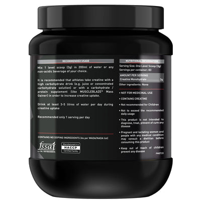 MB CREATINE 250GM