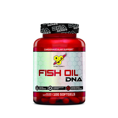 BSN FISH OIL DNA-100% SOFT-GELS-Muscle & Strength India