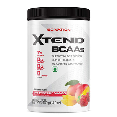 SCIVATION XTEND BCAA 30 SERVINGS STRAWBERRY MANGO