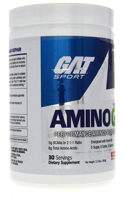 GAT Sport Amino GT 30 serving Tropical Lime mojito