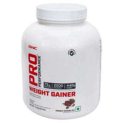 Gnc Weight Gainer 3kg Double Chocolate