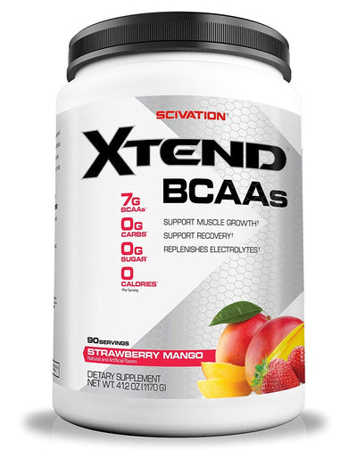 XTEND BCAAS 90 SERVING STRAWBERRY MANGO