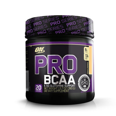 ON PRO BCAA 390 GM  20 SER PEACH MANGO