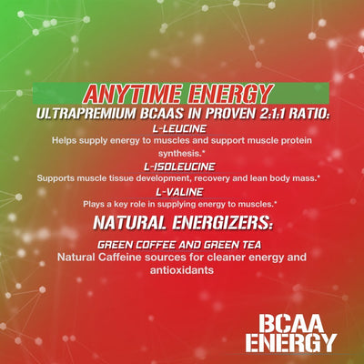 EVL BCAA ENERGY 30 SERVINGS CHERRY LIMEADE