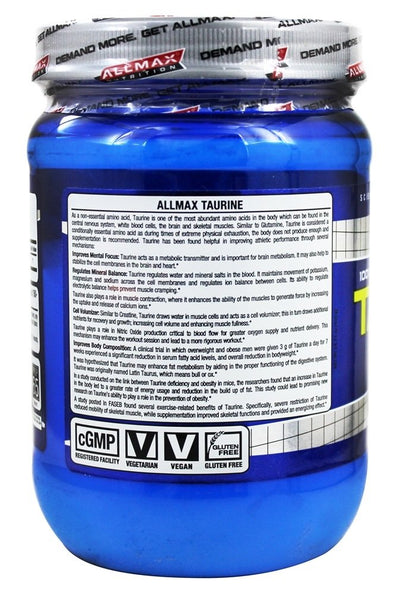 All Max Taurine 400 gm
