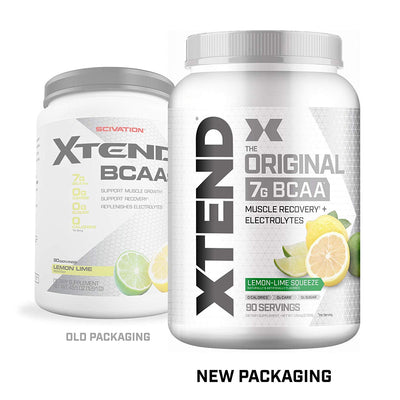 Scivation Xtend BCAA 90 Serving Lemon Lime - Muscle & Strength India - India's Leading Genuine Supplement Retailer