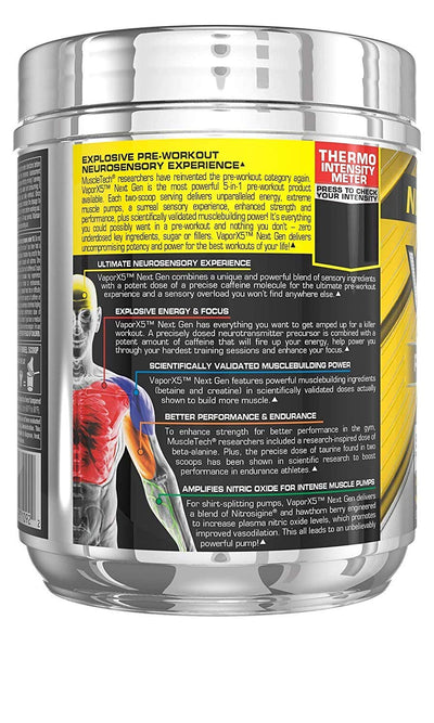 Muscletech Vapor X5 Rasberry Lemonade 30 Servings
