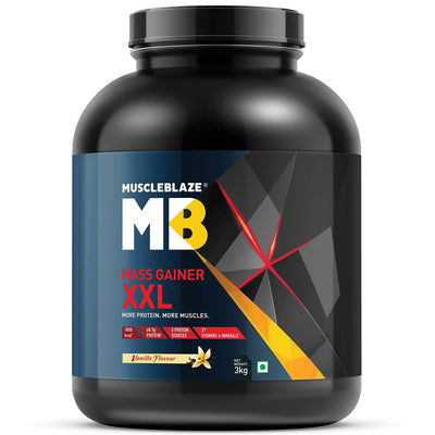 MB MASS GAINER XXL 3KG VANILLA