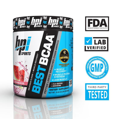 BPI SPORTS BEST BCAA  30 SERVING WATERMELON ICE