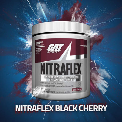 GAT Sport  Nitraflex BLACK CHERRY 30 Servings