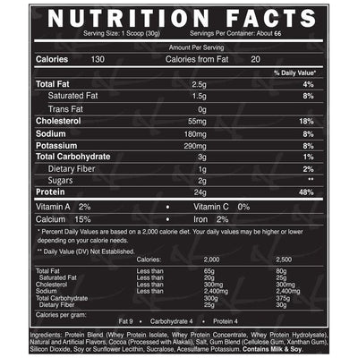 Dynamik Muscle Prey 66 Servings Malted Chocolate