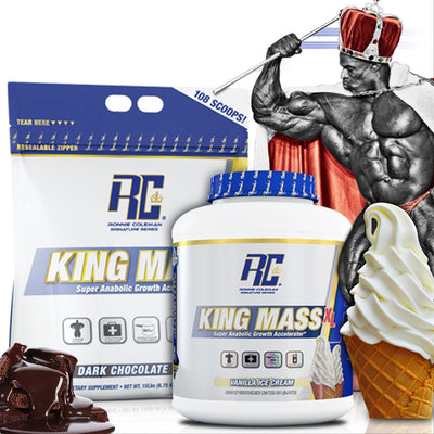 RC KING MASS 15LB STRAWBERRY MILK SHAKE