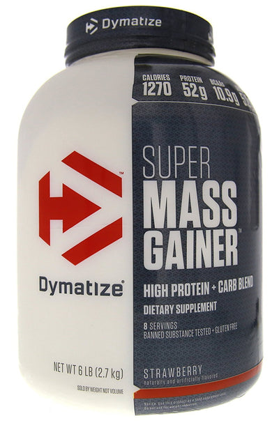 Dymatize Super Mass Gainer 6lb Strawberry