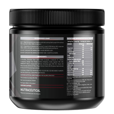 MB PRE 250GM FRUIT PUNCH - Muscle & Strength India - India's Leading Genuine Supplement Retailer