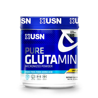 USN Pure Glutamine Micronized Powder, 300 Grams