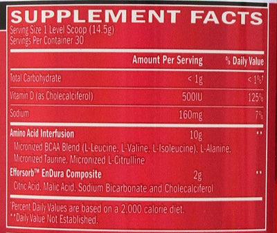 BSN AMINO X FRUIT PUNCH 435 GM