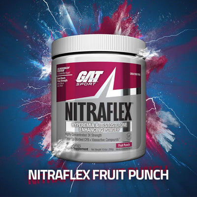 GAT Sport Nitraflex Fruit Punch 30 Servings