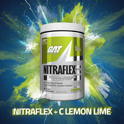 GAT SPORT NITRAFLEX+C 30 SERVING LEMON LIME