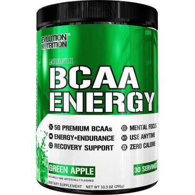 EVL BCAA ENERGY 30 SERVINGS GREEN APPLE