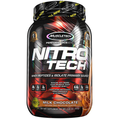 MT NITROTECH 2LBS MILK CHOCOLATE