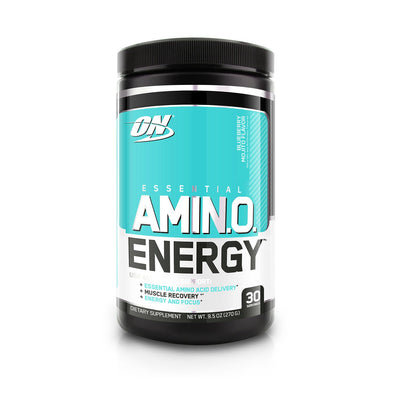 ON ESSENTIALS AMINO ENERGY 30 SERVING BLUEBERRY MOJITO FLAVOUR